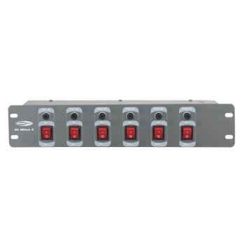 Showtec DJ-Switch 6 Conmutador Rack 50363