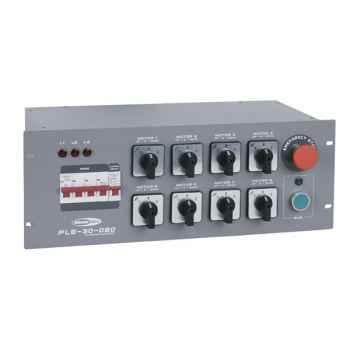 Showtec 8-Channel Chainhoist Controller Montacargas de cadena 70283