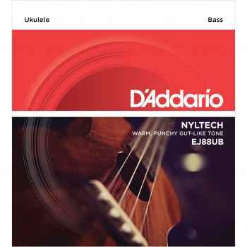 D´addario EJ88UB Nyltech Bass para Ukulele Bajo