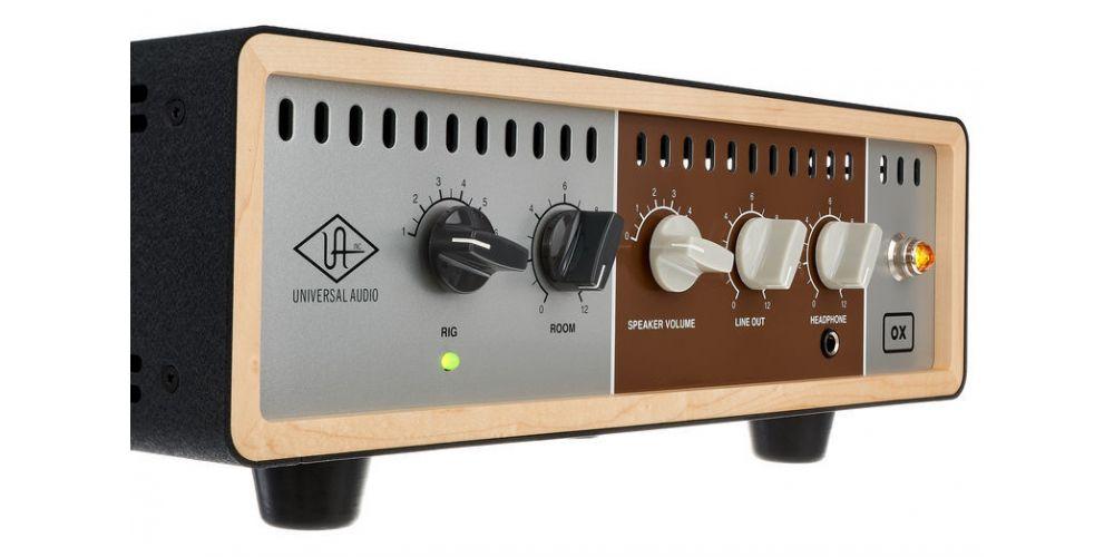 universal audio ox amp top box nuevo