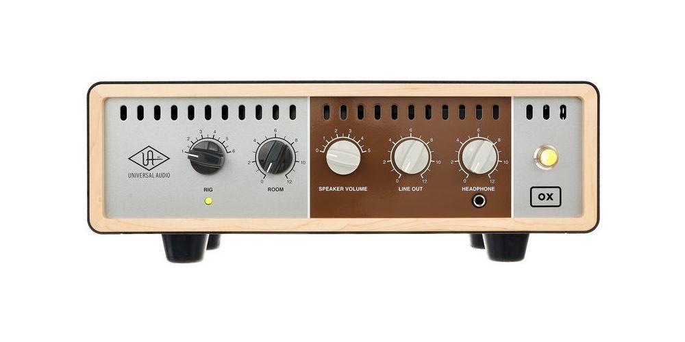 universal audio ox amp top box precio