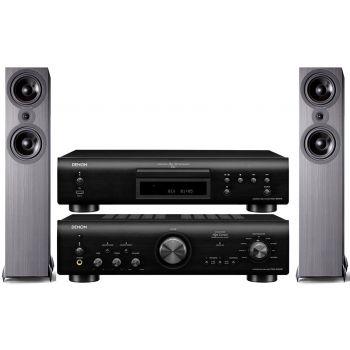 Denon PMA-800AE Black+DCD800 Black+SX80 Black Conjunto sonido