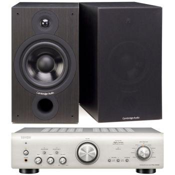 Denon PMA-800AESilver +Cambridge Audio SX60 Black Conjunto Sonido