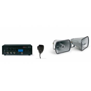 Fonestar PEM-73 Equipo móvil de megafonía 30 W máximo ( REACONDICIONADO )