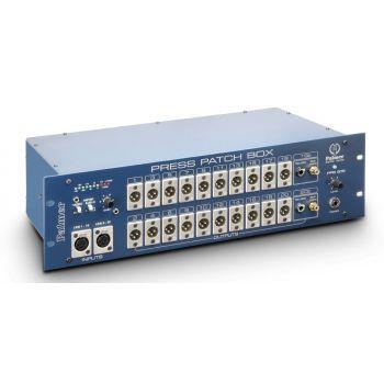 Palmer Press Patch Box 20 Stereo Distribuidor De Audio