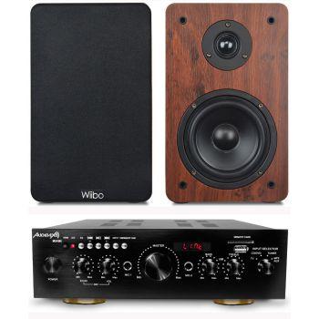 Equipo Hifi  Multimedia Karaoke Audibax Miami + Altavoces Wiibo Karino 200