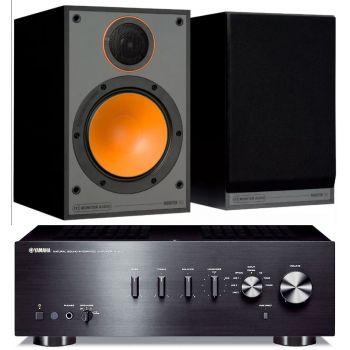 Yamaha AS301 Black+Monitor Audio Monitor 100 Black Conjunto Audio