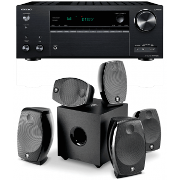 Cadena Home Cinema Receptor AV Onkyo TX-NR686 + Altavoces Focal SIB EVO 5.1.2