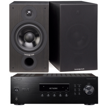 PIONEER SX-10AE-B+Cambridge Audio SX60 Bk Conjunto audio