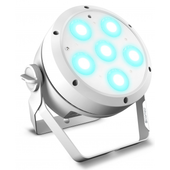 Cameo ROOT PAR 6 WH Foco PAR con 6 LED RGBAW + UV de 12 W
