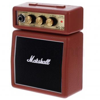 Marshall MS-2R Mini Amplificador Rojo