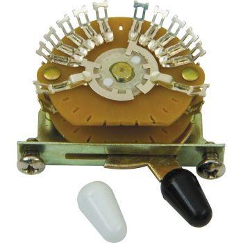 DiMarzio EP1112 Selector Pastillas 5 Posiciones Multipolar