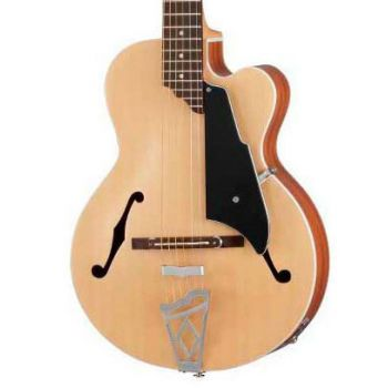 Vox VGA-3PS-NA Guitarra Electroacústica con Funda de Transporte