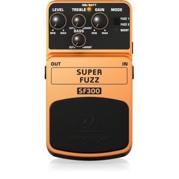 BEHRINGER SF300 Pedal  Guitarra Efecto Super Fuzz