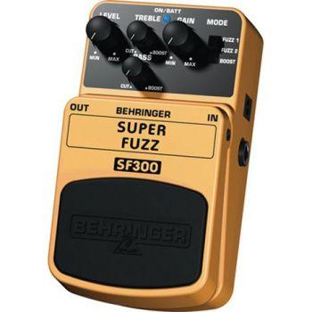 BEHRINGER Pedal  Guitarra Efecto Super Fuzz SF300 Behringer SF-300