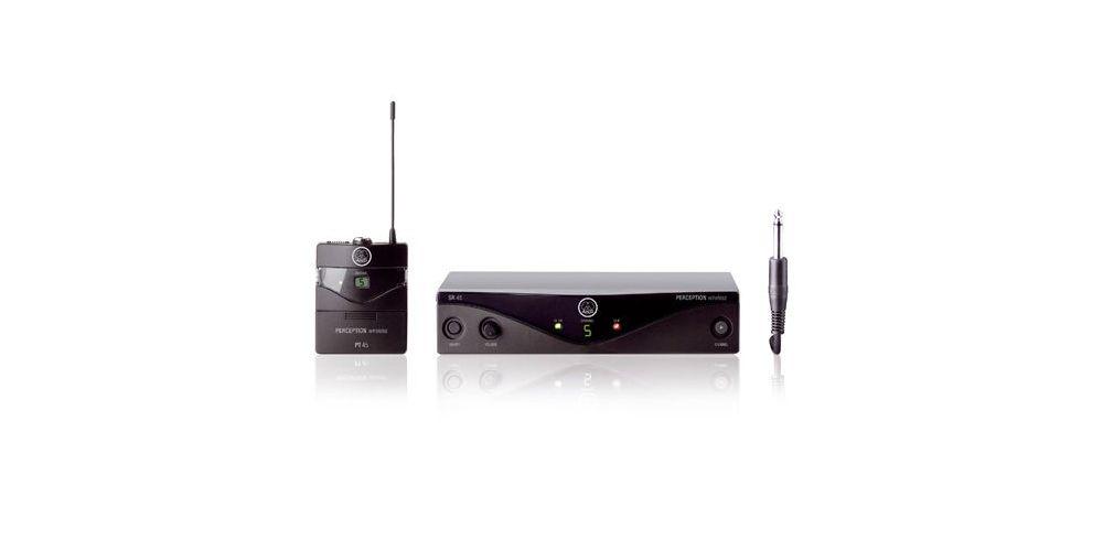 AKG WMS-45 PT INSTRUMENTS Microfono Inalambrico Sis. SR45 + PT45
