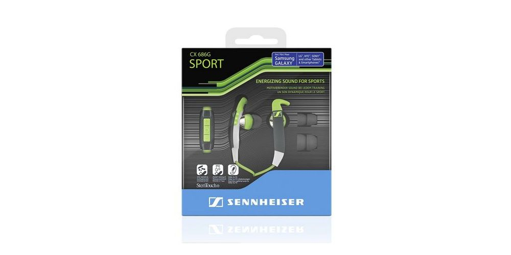 sennheiser CX 686G auriculares sport android embalaje