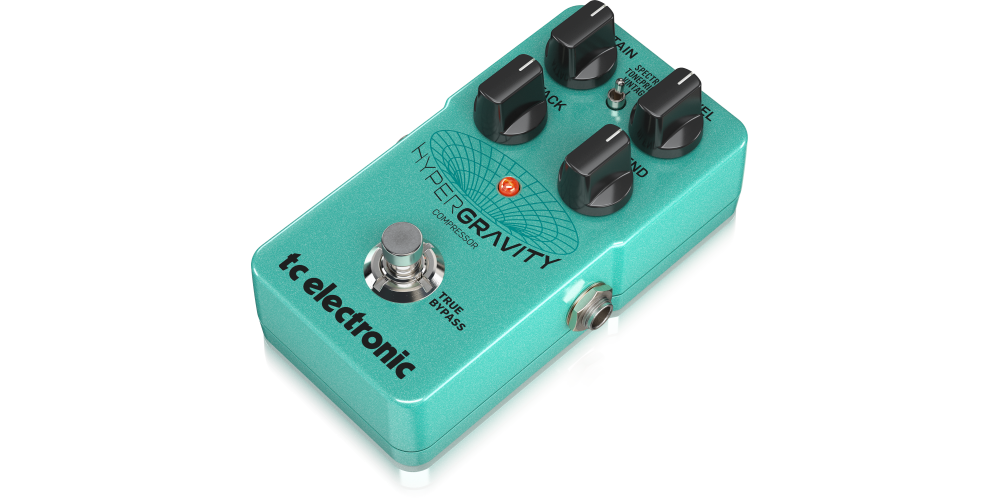 HyperGravity Compressor pedal tc electronic
