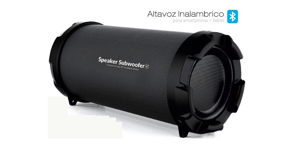ALTAVOZ Bluetooth Speaker Subwoofer S21B. Radio y Entrada SD