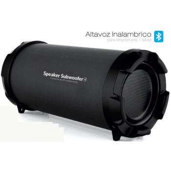 ALTAVOZ Bluetooth Speaker Subwoofer S21B. Radio y Entrada SD