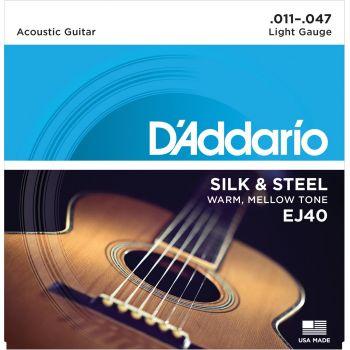D Addario EJ-40 (011-047) Cuerda Guitarra Acústica