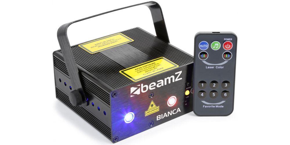 Beamz Bianca Doble Laser RGB Gobo