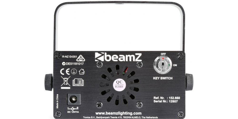 comprar Beamz Bianca Doble Laser RGB Gobo
