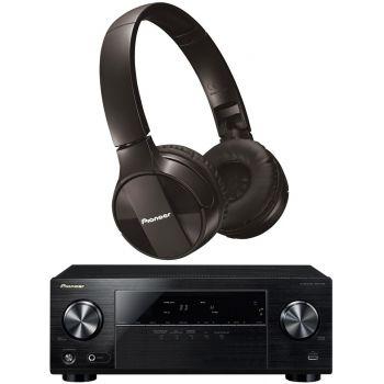 Pioneer VSX-330K Receptor AV + SE-MJ553BT-K Bluetooth