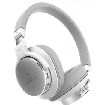 Audio-Technica ATH-SR5BT Blanco Auriculares inalámbricos On-Ear de Alta Resolución