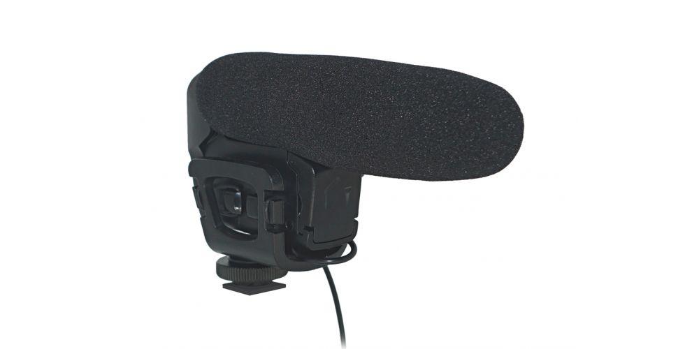 audibax videomic compact micro camara