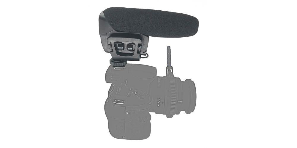 audibax videomic compact microfono camara comprar