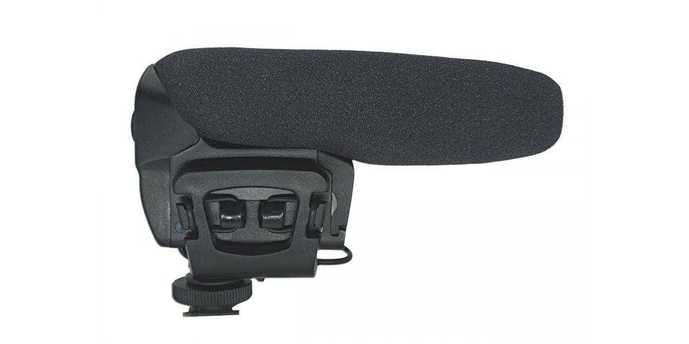 audibax videomic compact microfono camara