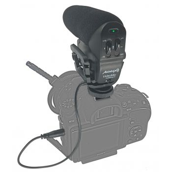 Audibax Videomic Compact Micrófono Externo Cámara Reflex DSLR y Videocámara Minijack Supercardióide ( REACONDICIONADO )
