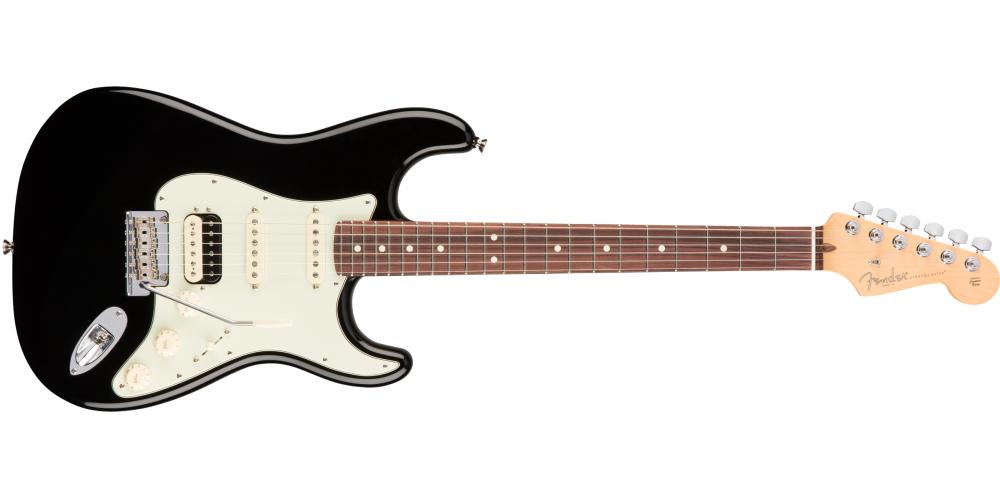 fender american pro stratocaster hss shawbucker rosewood fingerboard black