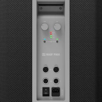 LD Systems MAUI P900 B Sistema PA de columna activo diseñado por Porsche Design Studio de Graphite Black