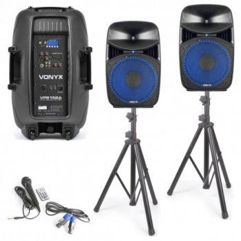 Vonyx VPS 152A Set de Altavoces  15