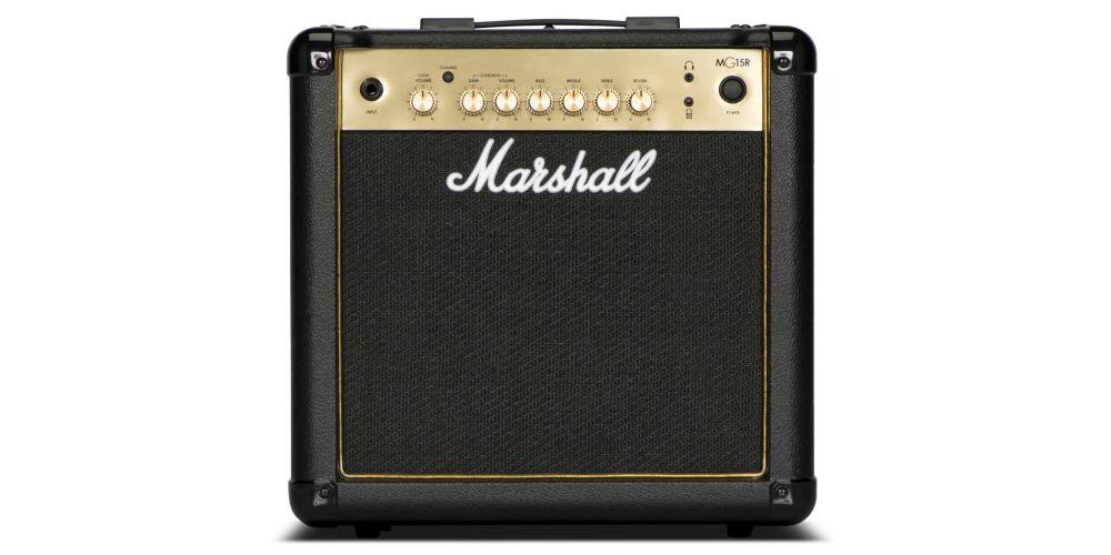 marshall mg15gr amplificador combo guitarra