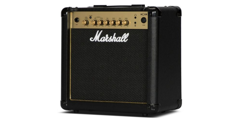 marshall mg15gr amplificador guitarra