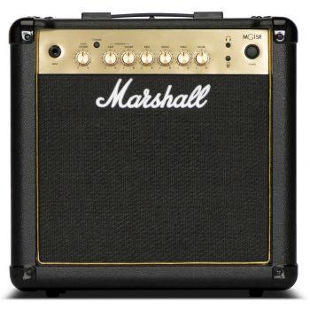 Marshall MG15GR Amplificador Combo para Guitarra Eléctrica MG GOLD REVERB 15W
