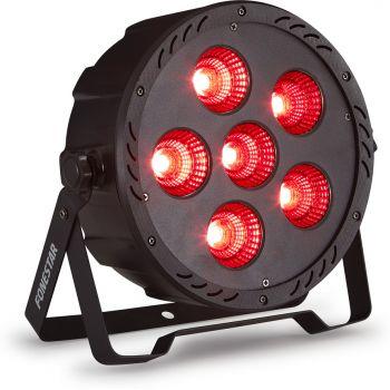 Fonestar PAR-180L Foco PAR DMX con 6 LED COB RGB