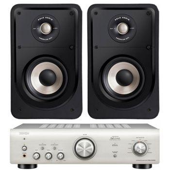 Denon PMA-600 NE Si+Polk Audio S15 E conjunto audio