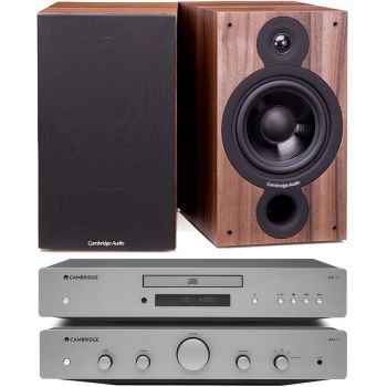 CAMBRIDGE AXA25 +AXC25+SX60-Walnut, Conjunto audio