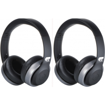KIT 2 OT HARMONY-G  Fonestar Auriculares Bluetooth Negro/Gris