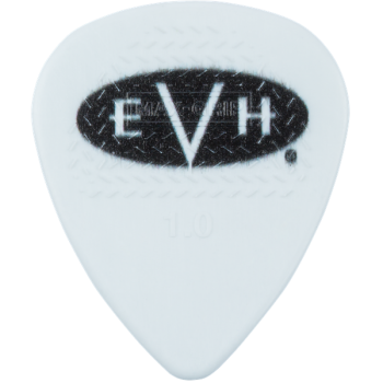 EVH Púas Signature White-Black Pack 6 Unidades 1 mm