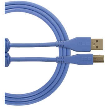 Udg U95001LB Ultimate Cable USB 2.0 A-B Azul 1 Metro