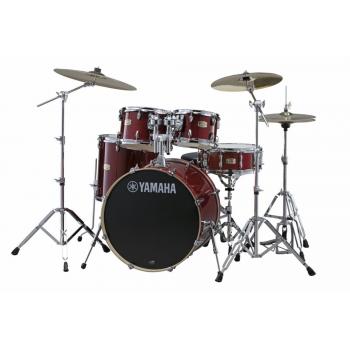 Yamaha Stage Custom Birch Cranberry Red 22