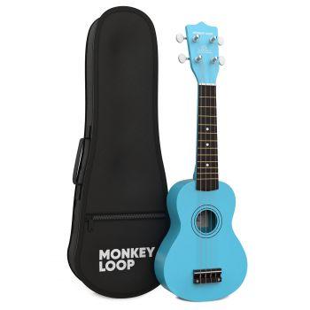 Monkey Loop Play Blue Ukelele Soprano