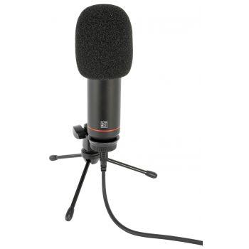 BST STM300 Micrófono Profesional USB para Grabación, Streaming y Podcasting