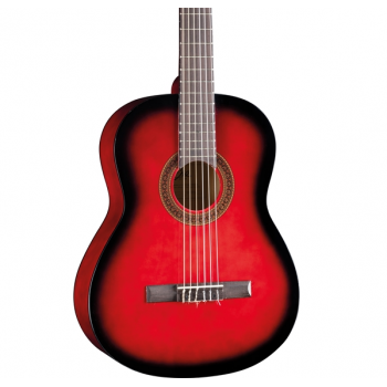 Eko CS-10 Red Burst Guitarra Clasica