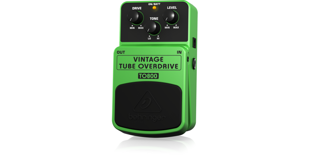 TO800 BEHRINGER PEDAL OVERDRIVE
